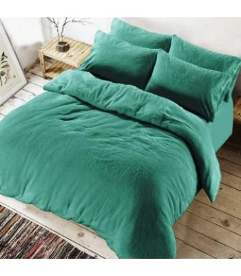 Teddy Duvet cover Teal