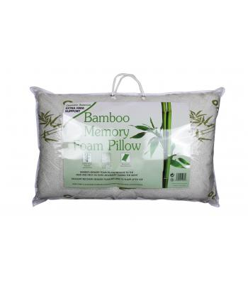 Pillow  Memory foam  Bamboo Firm support