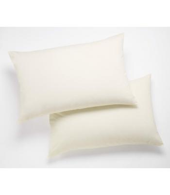 Percale Plain Pillowcases Pair