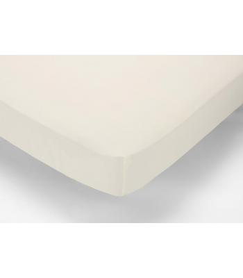 Percale Fitted  Sheet Double